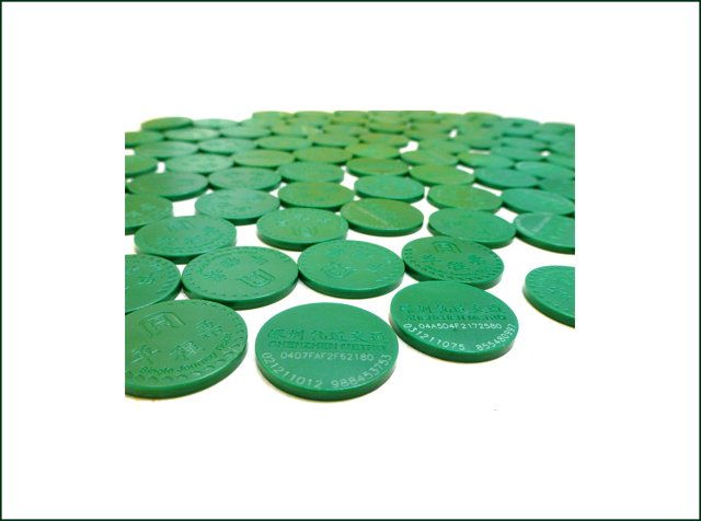 Customized RFID Round Coin Tag
