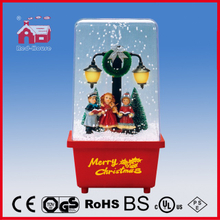 (P16029F) 2016 Choir Decoration Snowing Christmas Decoration with Music
