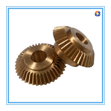 CNC Machining Parts for Brass Bevel Gear