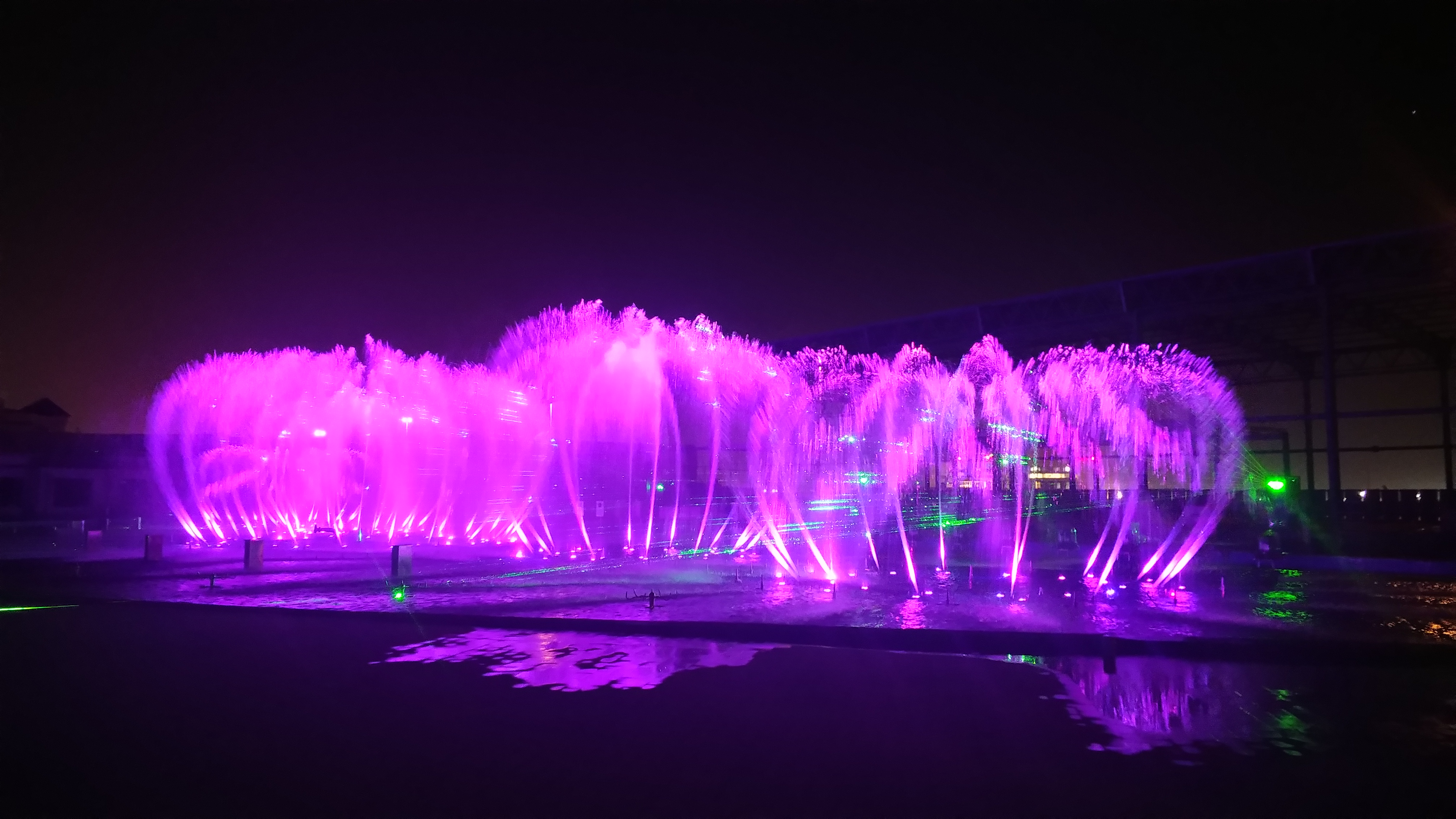 Saudi Arabia Jeddah city water show