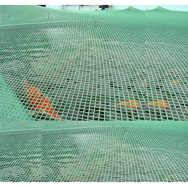 HDPE 25gsm black and green color pond net with peg, applied for pond, cover the pond,