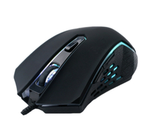 Computer Gaming Mouse with 7 Color Lighting, with Forward&Backward Key