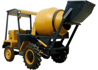 Mobile Mixer , 4x2 Self Loading Mobile Mixer , 680L Drum 200L Concrete Mixer , Concrete Mixer