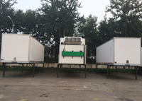 Swap Refrigerated Truck Box with All - Closed FRP/GRP Sandwich Panel Kits,Mobile Cold Room
