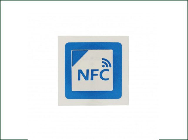 Paper Small Rewritable Ntag215 Printable NFC Tag For PET