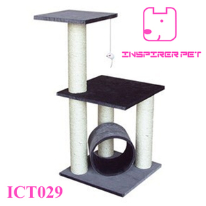 Cat Toy Condo Furniture Scratcher Tree