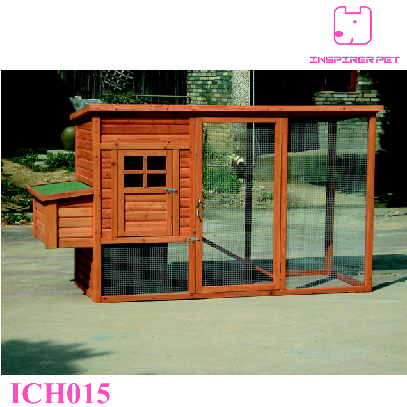 Wooden Chicken House Coops