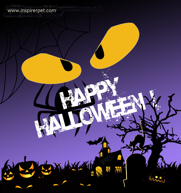 Inspirer Pet Wishes You a Happy Halloween