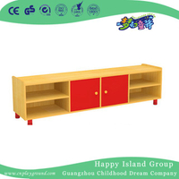 Venta caliente Kindergarten Furniture Wooden Kids TV Stand en stock (HG-6110)