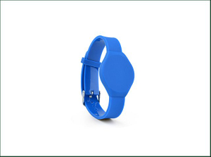 One Time PVC Tracking RFID Wristband
