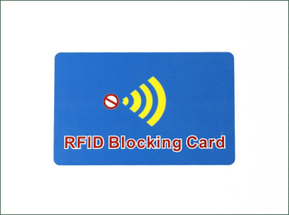 High Quality Customized Signal Blocking RFID Card