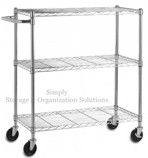 Lab Used Industrial Metal Shelving