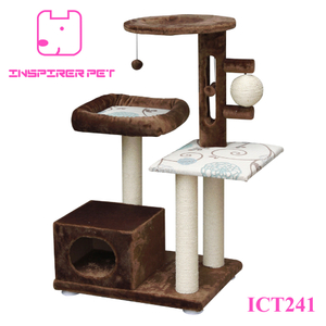 Cat Furniture Bed Sisal Ball Toy