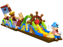 RB01016(15x3.6x5.8m) Inflatable Giant Pirate Obstacle Course for sale