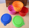 Collapsible Pet Feeding Bowl Dog Cat Travel Dish Silicone Bowl