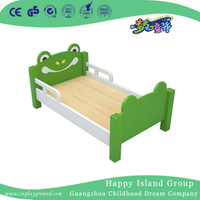 Cartoon Frog Model Painting Wooden Children Kindergarten School Bed (HG-6503)