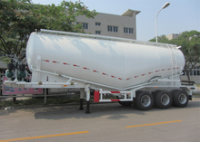 33000L Dry Bulk Pneumatic Tanker Semi Trailers with 3 Axles for Bulk Cement Powder, Cement Tanker Semi Trailer