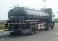 20000L Aluminum Tanker Semi Trailer with 2 Axles for High Quality Fuel Urban Transit
