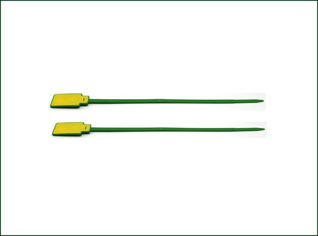 Green Waterproof RFID Tie Tag