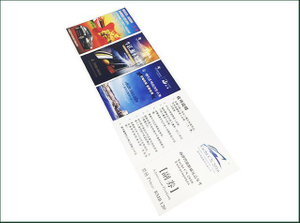Four Color Printing Fast Pass without Exchange Anything RFID Ticket