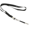 Ultrasonic Adjustable Frequencies Stainless Steel Metal Training Pet Dog Whistle with Lanyard To Stop Barking