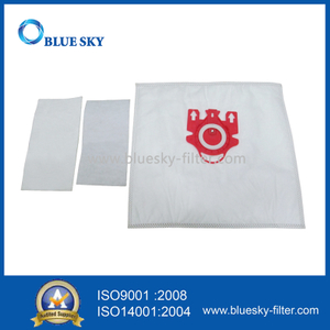Synthetic Fiber Dust Bags for Miele Type FJM Vacuum Cleaners