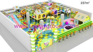 Indoor Playground Macio Crianças Indoor Play Equipment para Venda (H13-60023)