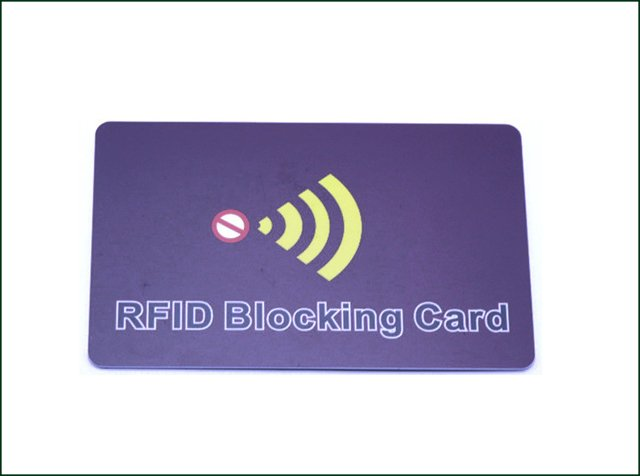 Customized Blocking Colourful RFID Card