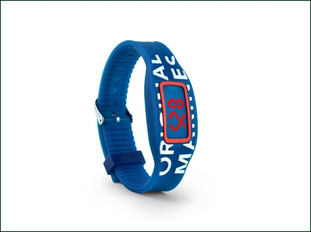 Customized Printing Silicone Rfid Wristband for Access Control in Gym