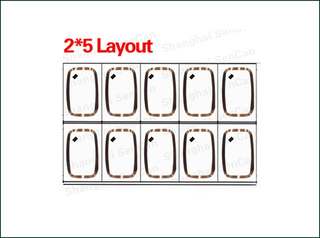 Customized RFID PVC Card Inlay Sheet