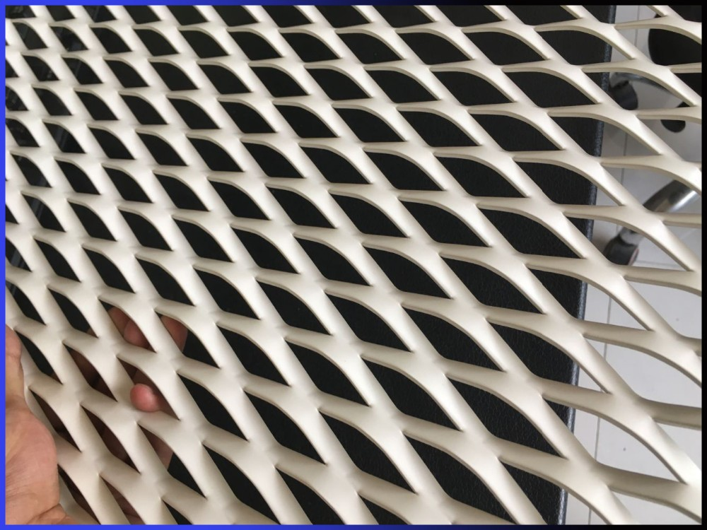1050 decorative anodize aluminum expanded metal mesh buy product on anping county sanqiang - Decorative wire mesh panels ...