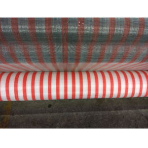 HDPE 95gsm red and white color or other color Anti Insect Net