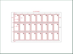 PVC Sheet RFID Inlay for Smart Card Manufacturing