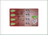 Prepaid Paper Lottry Scratch Calling Card with Pin Code