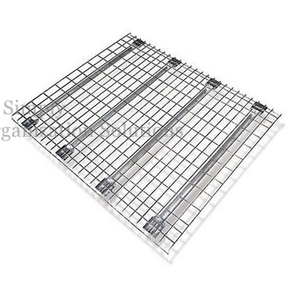Powder Coated Silver Mesh Decks Heavy 1000kg -1500kg Loading