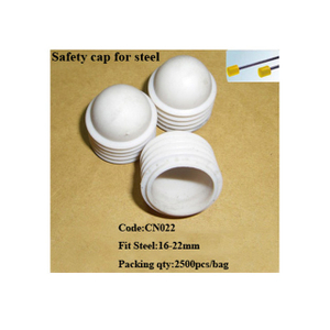 PE 18mm Safety cap for steel