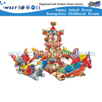 HD-10801 Outdoor Luxury Flying Chair Kids Play Equipment