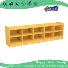 School Toddler Double Layers Wooden Shoes Cabinet (HG-4301)