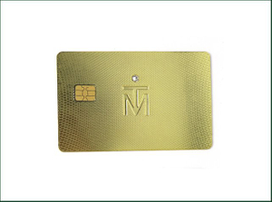 Metal Credit Card for Payment