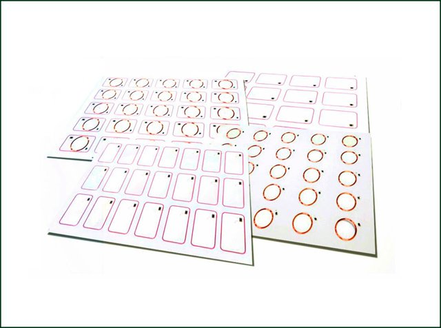 Customized Inlay Sheet with PVC Material
