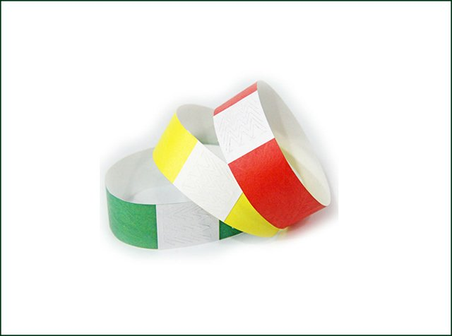 Waterproof Tyvek Paper Wristband for Events