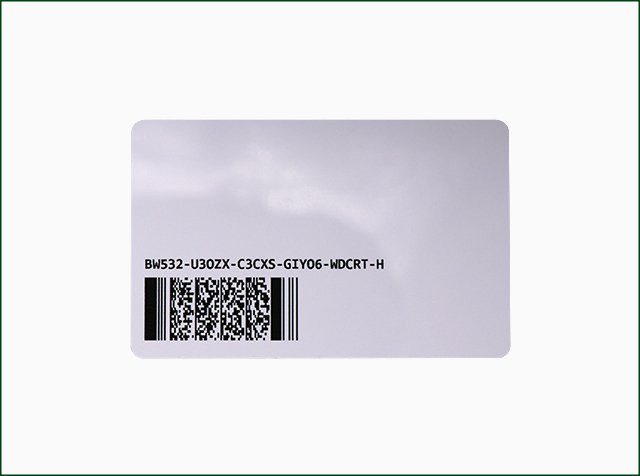 PET RFID Card with Customized Design