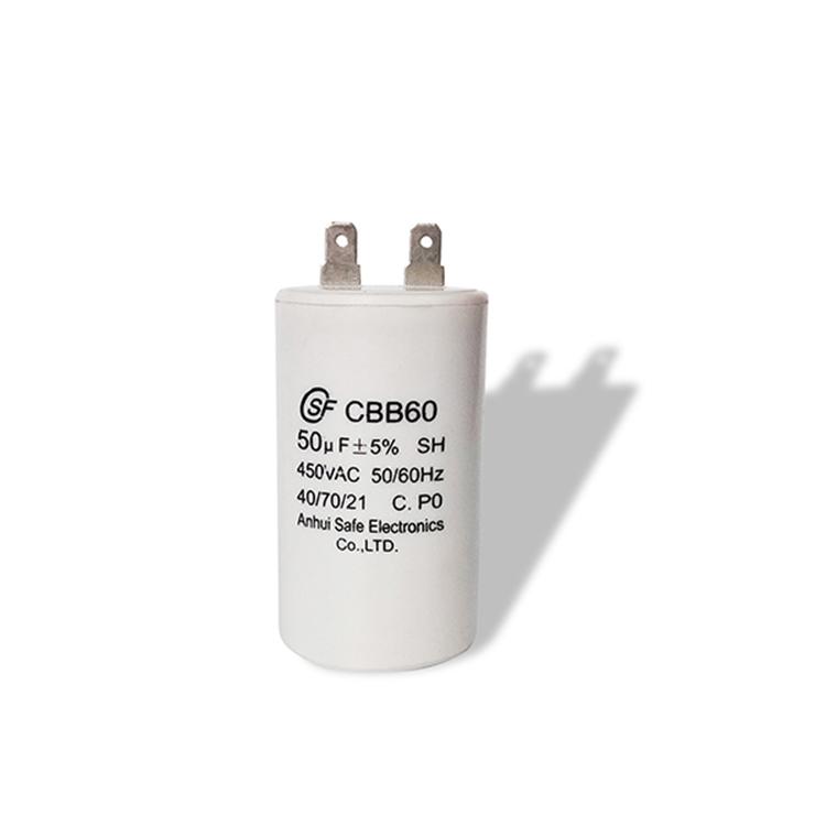 Motorkondensator CBB60  50uF 450VAC