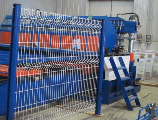 V槽围栏焊接生产线