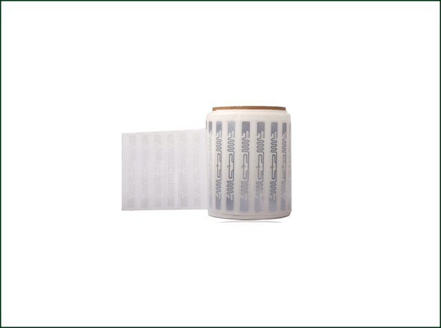 Aluminum Etched 9640 UHF Dry RFID Inlay for Managment