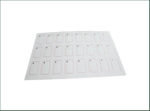 BIO-PVC Sheet RFID Inlay Prelam