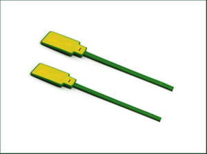 Green Cutter Cable Tie Name Tag