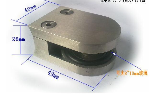 Glass clamp made by SS201 SS30