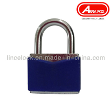 Iron Padlock / Steel Lock with PVC Coating (604A)