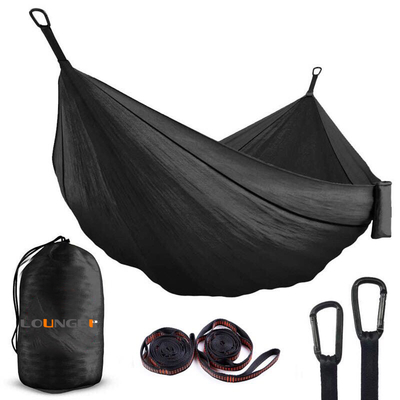 Backpack Hiking Portable Hammock with 10feet Strap D Shape Carabiners